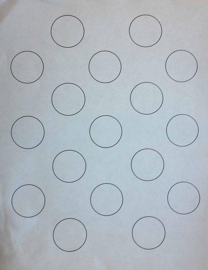 macarons template